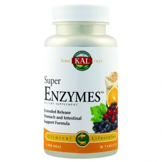 Super Enzymes 30 tablete Secom