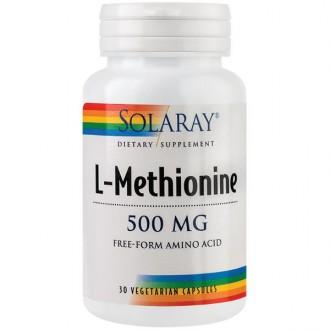 L-Methionine 500mg 30cps Secom