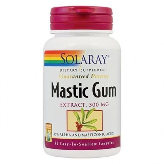 Mastic Gum 45 capsule Secom