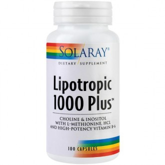 Lipotropic 1000 Plus 100 capsule Secom