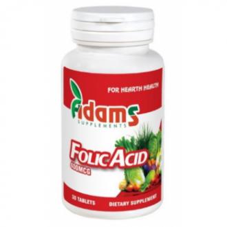 Acid folic 400mcg 30cpr 30cpr