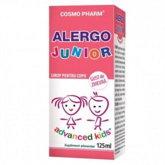 Advanced kids sirop alergo junior 125ml COSMOPHARM