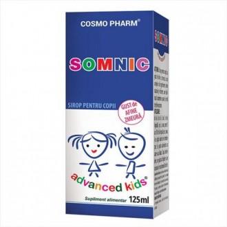 Sirop Somnic Advanced kids 125ml Cosmopharm