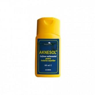 Aknesol-lotiune antiacneica 60ml TRANSVITAL