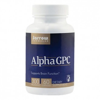 Alpha GPC 300mg 60tb - Jarrow