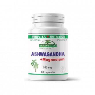 Ashwagandha cu Magneziu 60 capsule