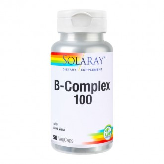 B-Complex 100mg 50 capsule Secom