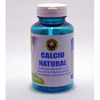 Calciu Natural 60 capsule Hypericum