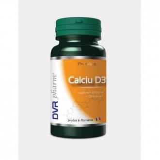 Calciu+d3 60 capsule DVR PHARM