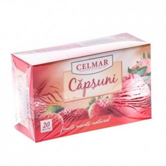 Ceai de capsuni 20plicuri CELMAR