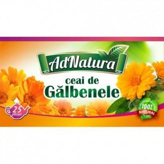 Ceai Galbenele Flori 25 doze Adserv