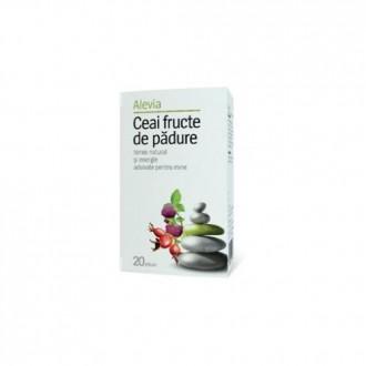 Ceai Fructe de Padure 20 plicuri Alevia