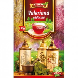 Ceai Valeriana Radacina 50g Adserv
