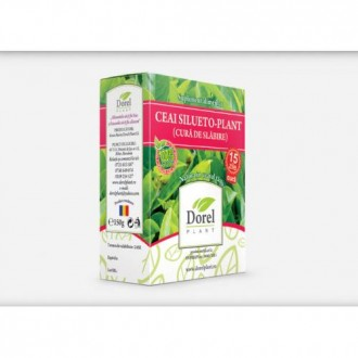 Ceai Silueto-Plant Cura de slabire 150g Dorel Plant
