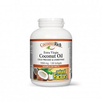 Ulei de cocos biologic extravirgin 1000 mg 120 capsule moi