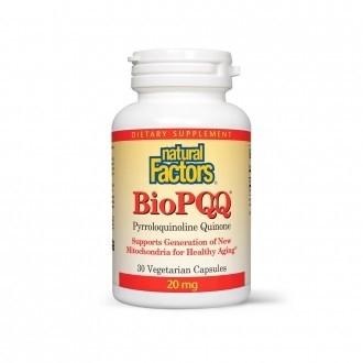 Coenzima Bio-PQQ Forte 20 mg 30 capsule vegetale
