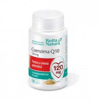 Coenzima Q10 - 120mg 30 capsule Rotta Natura
