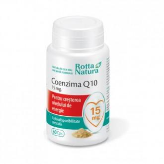 Coenzima Q10 - 15mg 30 capsule Rotta Natura