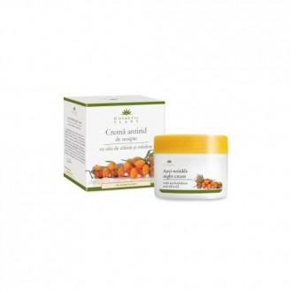 Crema Antirid de noapte cu ulei de catina si masline 50 ml Cosmetic Plant