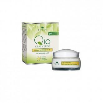 Crema antirid de zi Q10 si ceai verde 50ml Cosmetic Plant
