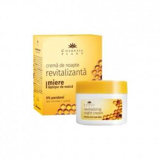 Crema de noapte revitalizanta cu miere si laptisor de matca 50ml Cosmetic Plant