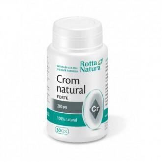 Crom Natural Forte 30 capsule Rotta Natura