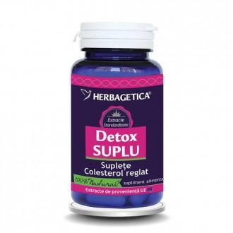 Detox Suplu 30 capsule Herbagetica