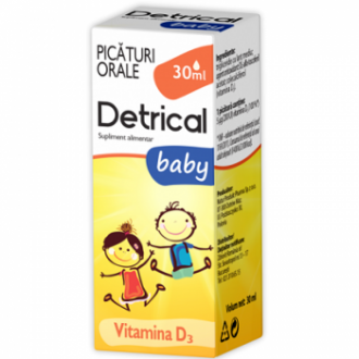 DETRICAL D3 BABY 30ml, Zdrovit