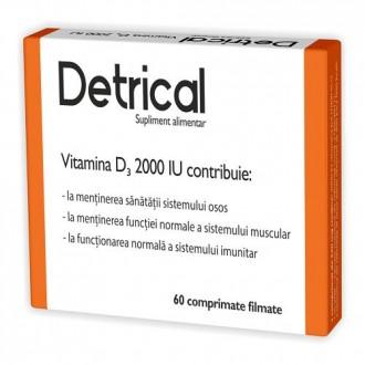 Detrical-vitamina d3 2000iu 60cpr ZDROVIT