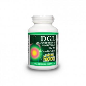 DGL 400 mg 90 tablete masticabile