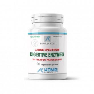 Enzime Digestive Complex Forte cu Pancreatin Konig