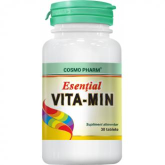 Esential Vita-Min, 30cpr - Cosmo Pharm