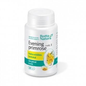Evening Primrose + Vitamina E 30 capsule Rotta Natura