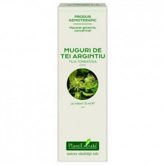 Extract concentrat din muguri de tei argintiu - tilia tomentosa mg 15ml PLANTEXTRAKT