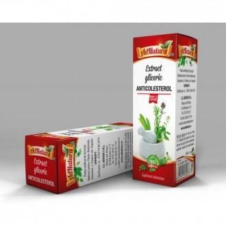Extract Gliceric Anticolesterol 50ml - Ad Natura