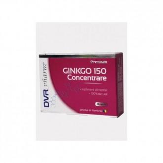 Ginkgo 150 Concentrare 20 capsule DVR PHARM