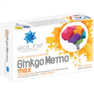 Ginkgo memo max 30cpr BIO SUN LINE