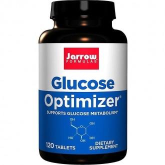 Glucose Optimizer 120tb - Jarrow Formulas - Secom