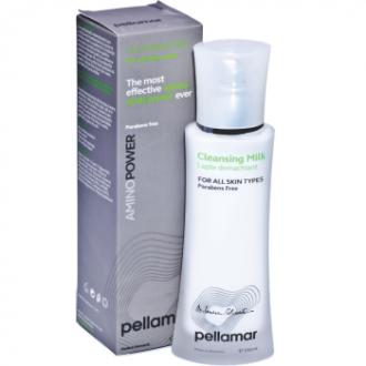 Lapte demachiant pentru toate tipurile de piele, AminoPower, 100ml - Pellamar
