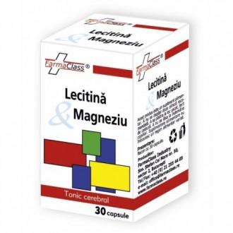 Lecitina & magneziu 30 capsule FARMACLASS