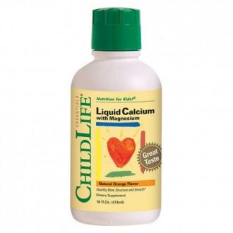 Liquid calcium with magnesium 474ml CHILDLIFE ESSENTIALS