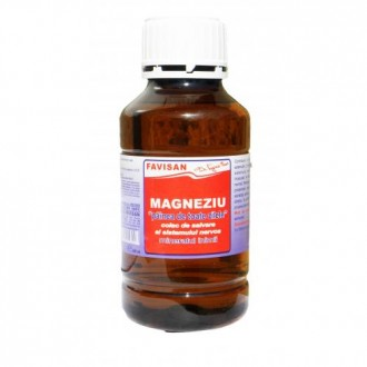 Magneziu lichid 500ml FAVISAN