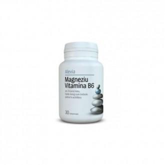 Magneziu formula citrat 30 comprimate Alevia