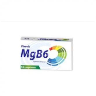 Magneziu +vitamina b6 50cpr ZDROVIT