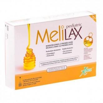 Melilax Pediatric 6 microclisme Aboca