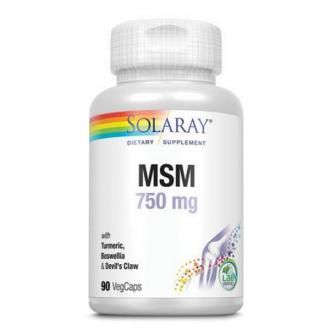 MSM 750mg 90 capsule Secom