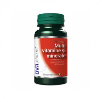 Multivitamine si minerale 60 capsule DVR PHARM