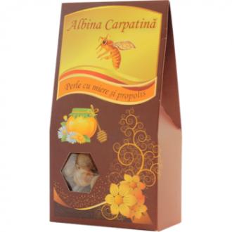 Perle cu miere si propolis 100g Apicola Pastoral Georgescu