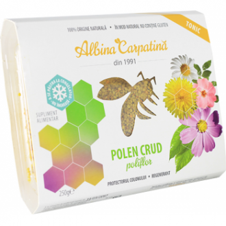 Polen crud poliflor 250g Apicola Pastoral Georgescu