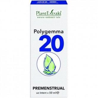 Polygemma 20 Premenstrual 50ml Plantextrakt